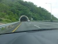 雪山トンネル入口150927