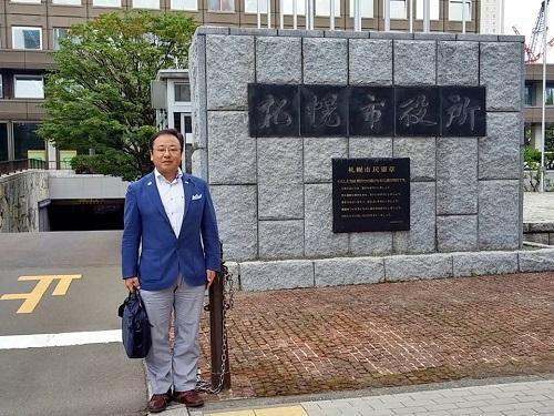 札幌市まちなか道路空間活用について!①