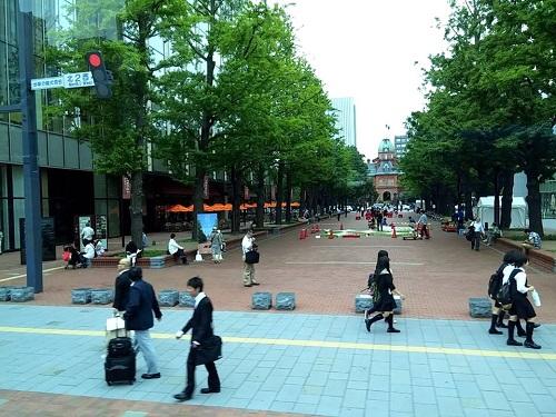 札幌市まちなか道路空間活用について!④