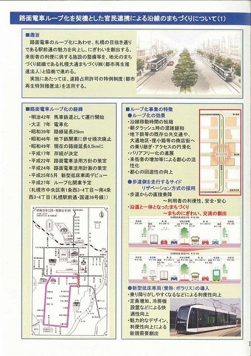 札幌市まちなか道路空間活用について!⑤