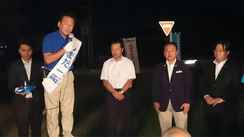 鹿沼市議選 応援へ!最終日①