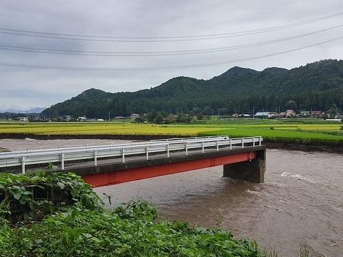 篠井地区 田川の被害!その1①
