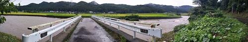 篠井地区 田川の被害!その1⑤