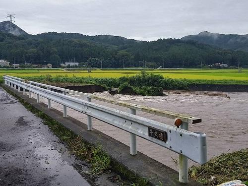 篠井地区 田川の被害!その1⑥