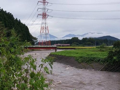 篠井地区 田川の被害!その1⑨