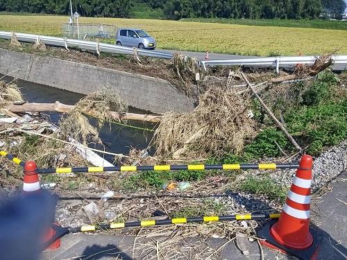 台風18号水害の爪痕…壬生町③