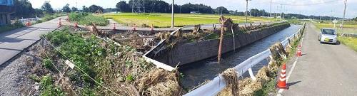 台風18号水害の爪痕…壬生町⑤