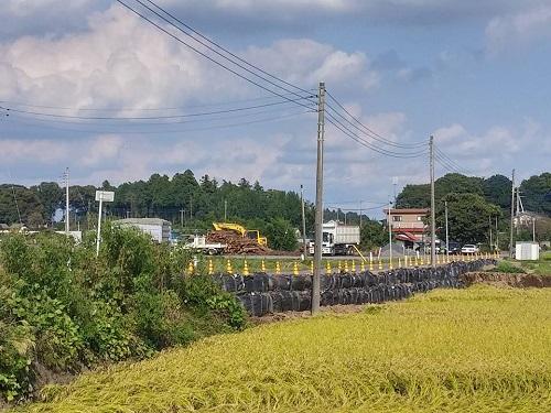 台風18号水害の爪痕…壬生町⑧