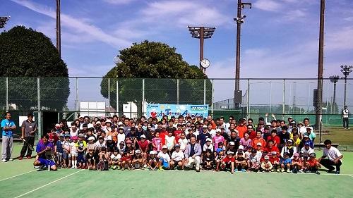TTAテニスフェスタ2015 & 宇都宮 秋のテニス祭!①