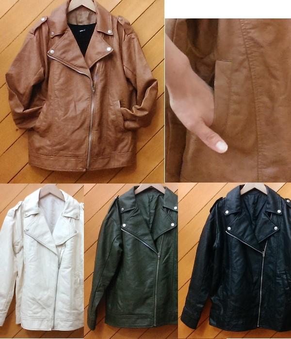 ビッグライダースジャケット ¥4700+税