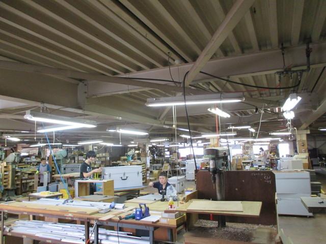 アルミケース製造部