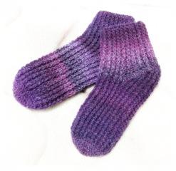 かぎ針編み靴下