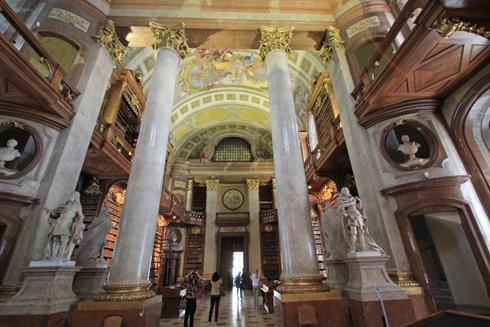 ウィーン国立図書館2015-6
