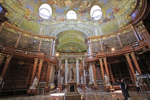 ウィーン国立図書館2015-8