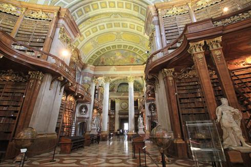 ウィーン国立図書館2015-10