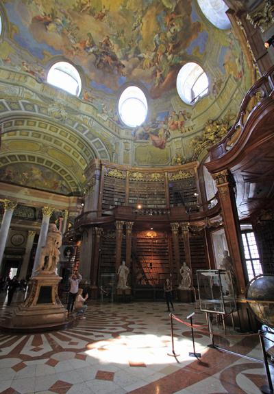 ウィーン国立図書館2015-11