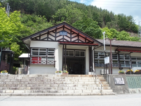 通洞駅 駅舎