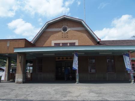 西桐生駅 駅舎