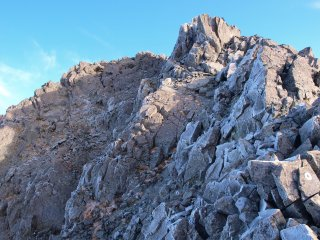 s02涸沢岳への岩場3