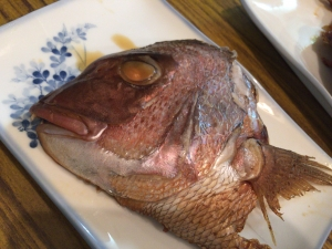 大芳3 鯛の兜煮