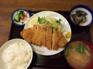 河島屋食堂2 豚ロースカツ定食