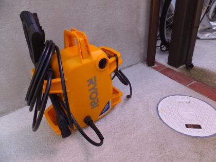 リョービ高圧洗浄機