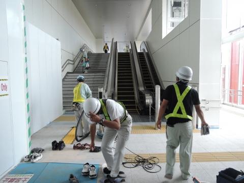 JR石岡駅 新駅橋上化一部供用⑤