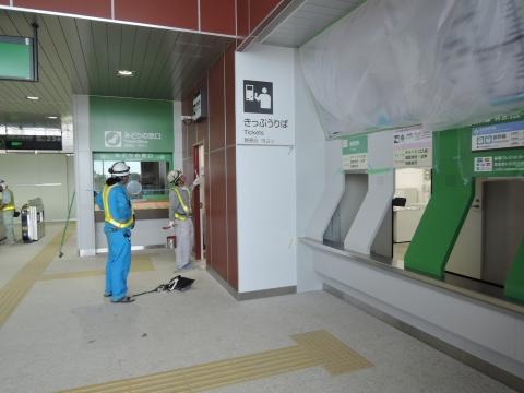 JR石岡駅 新駅橋上化一部供用⑬