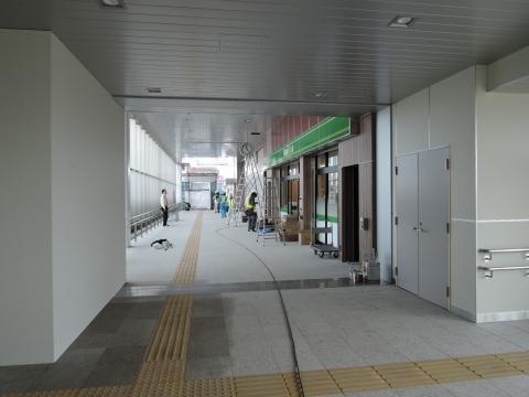 JR石岡駅 新駅橋上化一部供用⑭