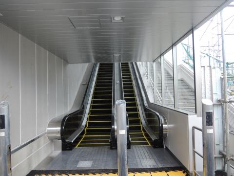 JR石岡駅 新駅橋上化一部供用⑫