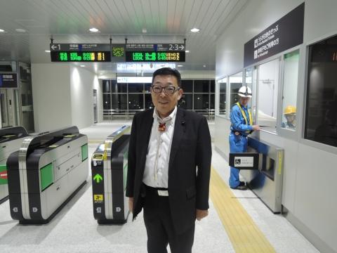 JR石岡駅 新駅橋上化一部供用開始③