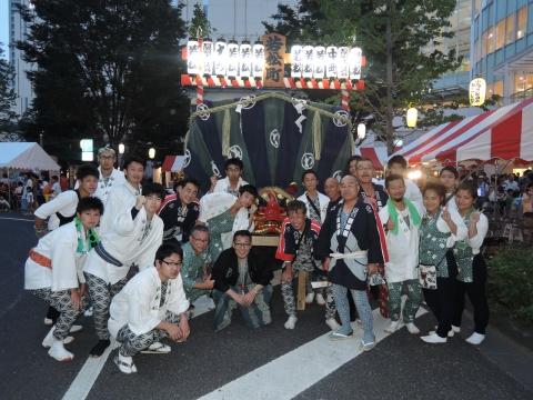 柏の葉キャンパス駅前 田中みこし祭り⑦
