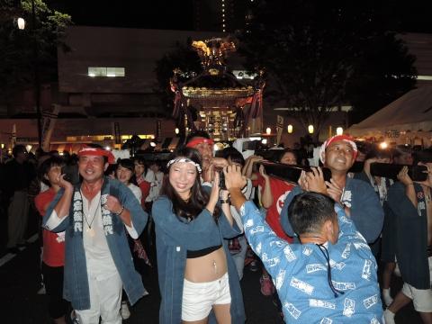 柏の葉キャンパス駅前 田中みこし祭り⑪