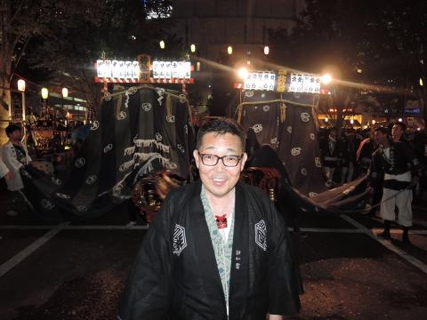 柏の葉キャンパス駅前 田中みこし祭り⑬