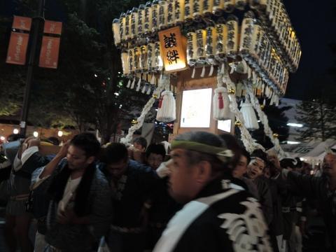 柏の葉キャンパス駅前 田中みこし祭り⑫
