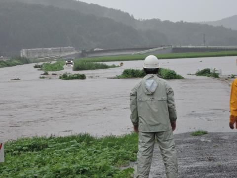 平成27年9月10日恋瀬川氾濫 片野地区⑥