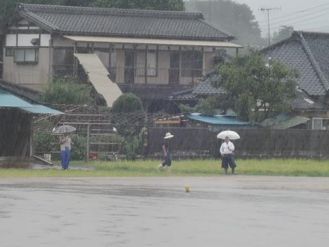 平成27年9月10日恋瀬川氾濫 片野地区⑦