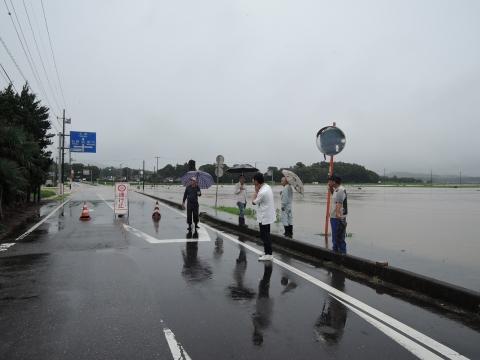 平成27年9月10日恋瀬川氾濫 片野地区⑧