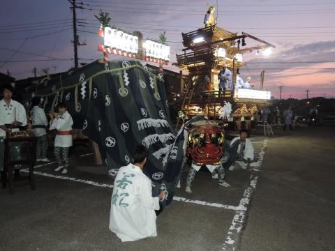 平成27年「たたき初め」①若松町