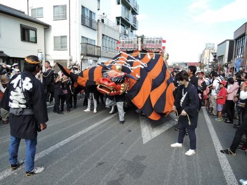 平成27年9月20日幌獅子パレード④