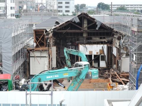 JR石岡駅 解体工事⑩
