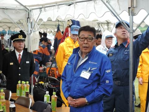 平成27年10月11日消防ポンプ県南北部大会 優勝⑧