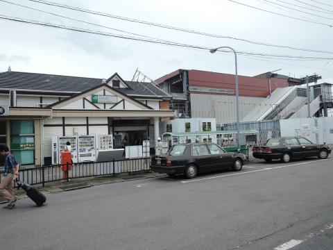 旧JR石岡駅 解体工事①