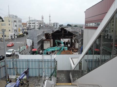 旧JR石岡駅 解体工事③