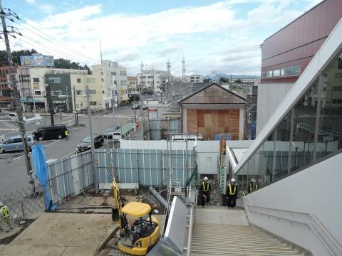 旧JR石岡駅 解体工事②