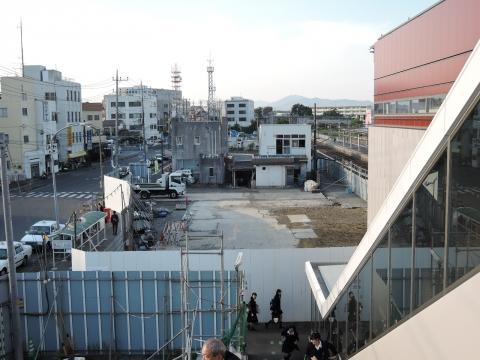 旧JR石岡駅 解体工事④
