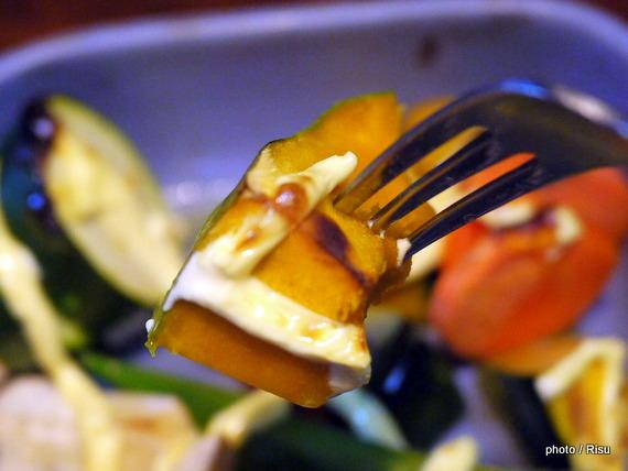 焼きサラダ-フェリシモ耐熱プレート