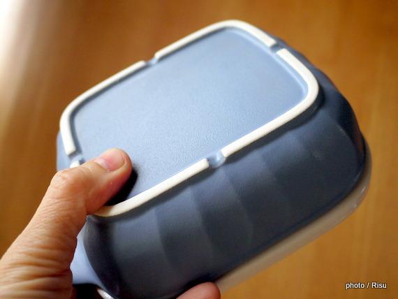 グリルのお掃除不要ふた付き耐熱プレート-フェリシモ