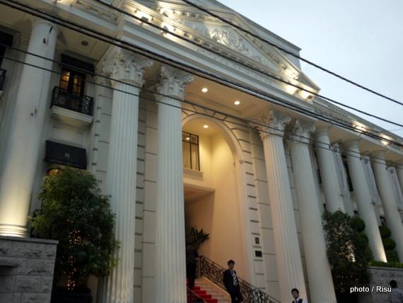青山迎賓館 DHC「リバイタライジングブースターセラム」発表会