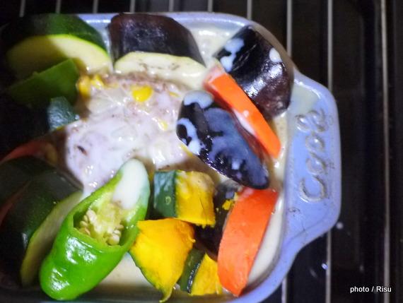 ご馳走ハンバーグ-フェリシモ耐熱プレート料理